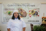 Angie Figueroa is in the culinary program and club at Harbor Photo by Gabriel Islas