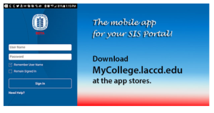LACCD mobile App