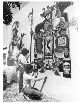Mural by Guy Goodenow 1973